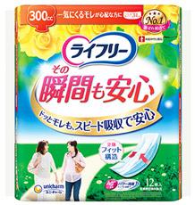ユニチャーム ライフリー 驚きの値段で その瞬間も安心 300cc 尿ケアパッド 12枚 医療費控除対象品 34cm 日本