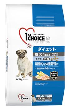 アースペット ファーストチョイス 成犬 ダイエット 小粒 チキン (6.7kg) 1歳以上 ドッグフード ドライ