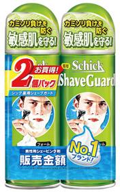 シック 薬用シェーブガード ランキングTOP5 定番から日本未入荷 シェービングフォーム 200g×2個パック 医薬部外品