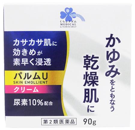 第2類医薬品 くらしリズム 贈答品 メディカル 奥田製薬 尿素10%配合 販売 クリーム パルムU 90g