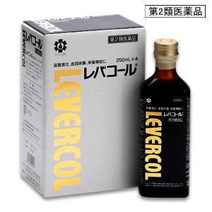 【第2類医薬品】滋養強壮、虚弱体質、栄養補給に!日邦薬品工業 レバコール 250ml×4本入り