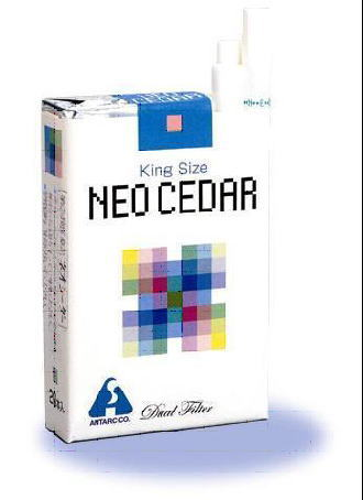 【第(2)類医薬品】アンターク ネオシーダー キングサイズ 20本入×400個セット(40カートン)