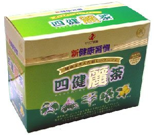 ☆1個あたり税抜2800円!ゼリア新薬 新健康習慣 四健麗茶 60袋×6個セット(180日分)