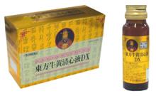 【第3類医薬品】明治薬品 東方牛黄清心液DX 20ml×60本セット(10本×6箱)