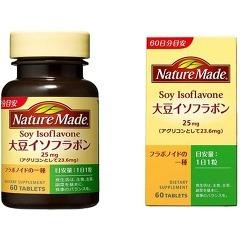 ☆単品よりも30%お得!大塚製薬 ネイチャーメイド 大豆イソフラボン 60粒入×12個セット