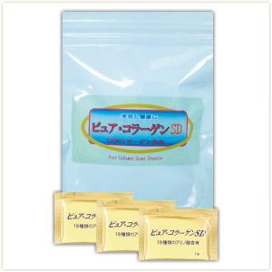 ☆無添加・高純度・低分子の三拍子コラーゲン!東海美商 ピュアコラーゲンSD顆粒 分包タイプ 1g×30包(約1ヶ月分)×12個セット