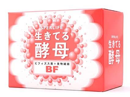 ☆生きてる酵母に食物繊維のプランタゴオバタを配合!日健協サービス スパーライフ 生きてる酵母BF(食物繊維強化タイプ) 30包※箱なしエコ包装品でお届けします
