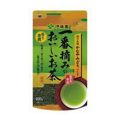 伊藤園 一番摘みのおいしいお茶 香り豊潤 100g×10個セット