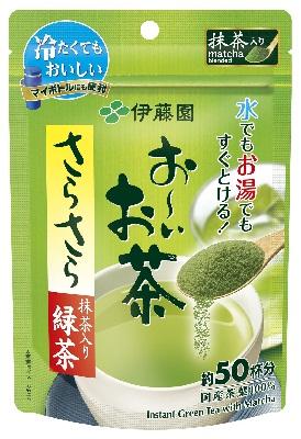 ☆北海道・九州も送料無料!伊藤園 お~いお茶 さらさら抹茶入り緑茶 40g×30個セット(1ケース)