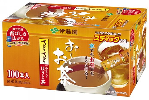 ☆北海道・九州も送料無料!伊藤園 おーいお茶 さらさらほうじ茶 スティック 100本×10個セット