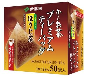 ☆北海道・九州も送料無料!伊藤園 お~いお茶 プレミアムティーバッグ 一番茶入りほうじ茶 50袋×12個セット※よく出るおいしいプレミアムティーバッグがリニューアルしました