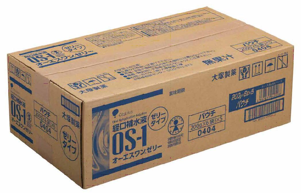 大塚製薬 経口補水液 OS-1ゼリー(オーエスワンゼリー) 200g×60袋セット(2ケース)