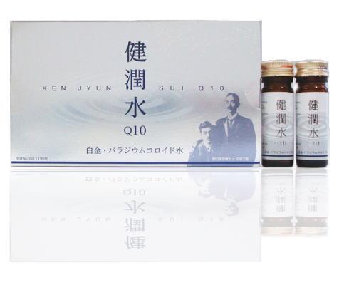 ☆単品よりも20%お得!ムサシノ製薬 健潤水Q10 50ml(10ml×5本入り)×12個セット