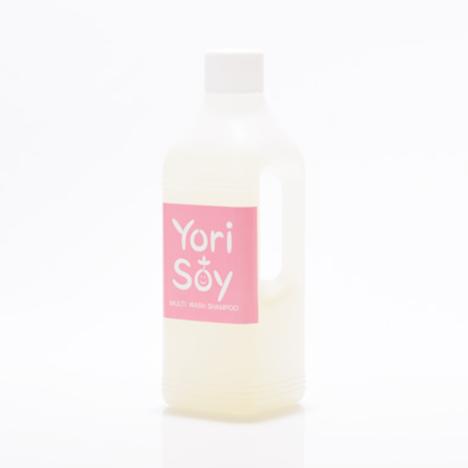 ☆単品よりも20%お得!ナノ・ディライト Yori Soy 全身用シャンプー ローズマリーの香り ボトル 1000ml×12個セット