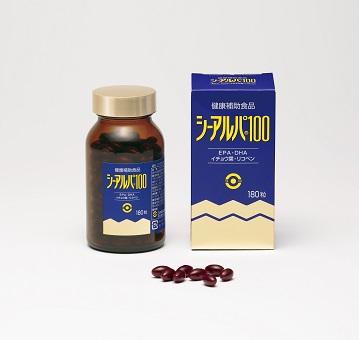☆イチョウ葉エキス、EPA、DHA、リコペン配合!日水製薬 シーアルパ100 180粒