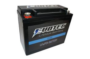 EVOTEC(エヴォテック)リチウムイオンバッテリーEV-480クルマのサーキット走行に!『エヴォルテックジャパン』の新製品です。