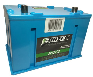 EVOTEC エヴォテック EV-12150 リチウムイオンバッテリー(クルマ用)『エヴォルテックジャパン』の新製品です。エボテック(自動車専用)過放電保護機能+オルタノイズ除去機能付き