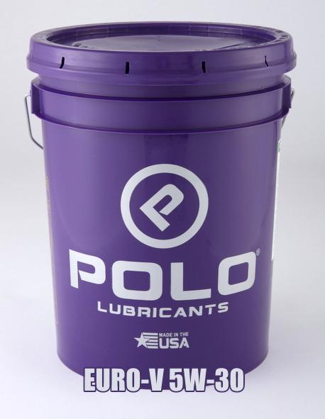 POLOオイル ポロオイル SYN-PRO 1000 EURO-V 5W-30 シンプロ1000ユーロV ポロの化学合成エンジンオイル ペール缶 18.9L ※ご注文後のキャンセルはご遠慮ください。