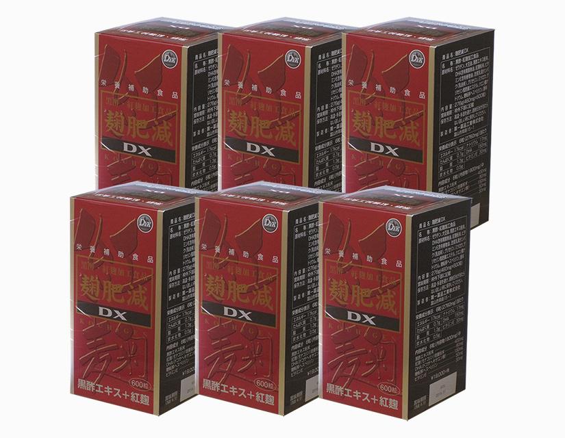 麹肥減DX600粒 6個