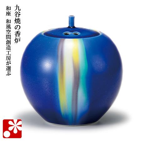九谷焼 3.5寸 香炉 釉彩 博峰窯( 陶器 おしゃれ 仏具 アンティーク )