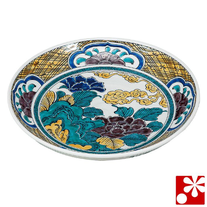 九谷焼 大皿(径 27cm) 牡丹(和食器 おしゃれ 食器)