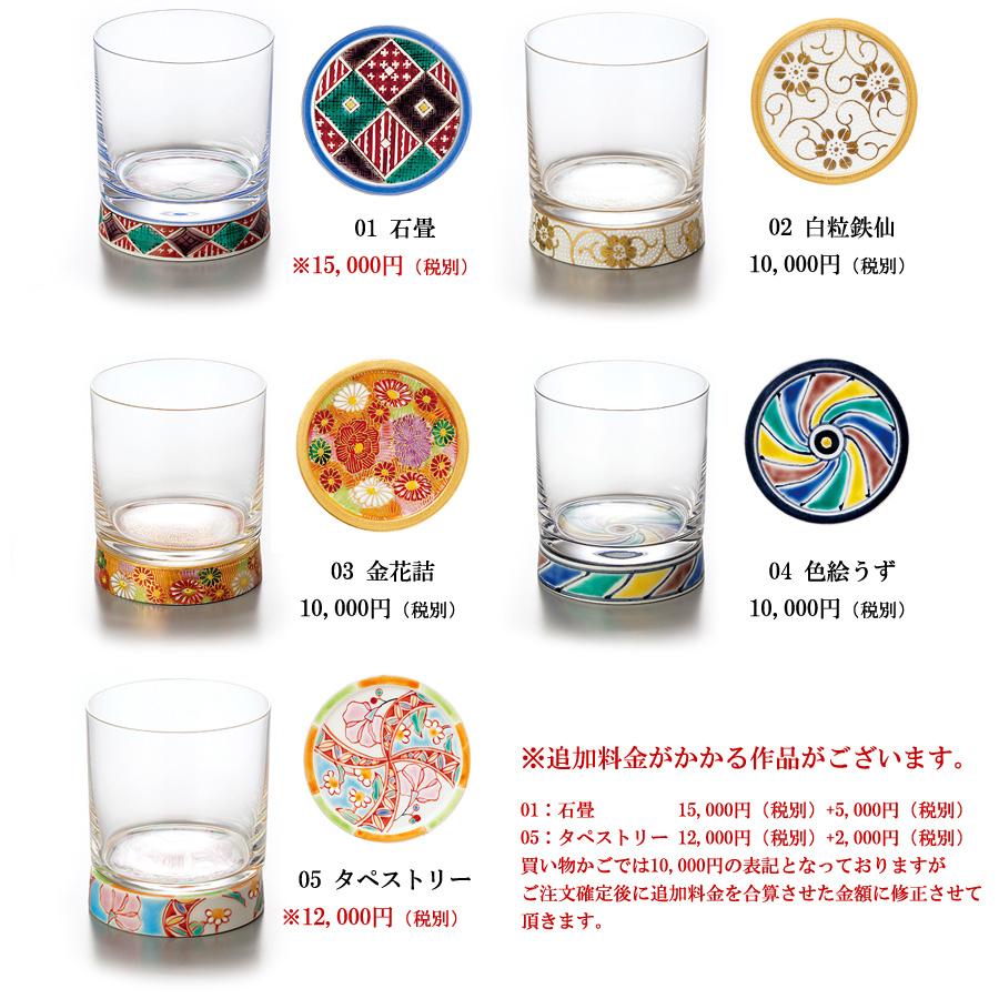 WAZA   Rakuten Global Market: Rock glass choice Kutani ware Kutani ...