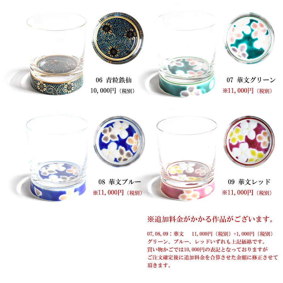 WAZA | Rakuten Global Market: Rock glass choice Kutani ware Kutani ...