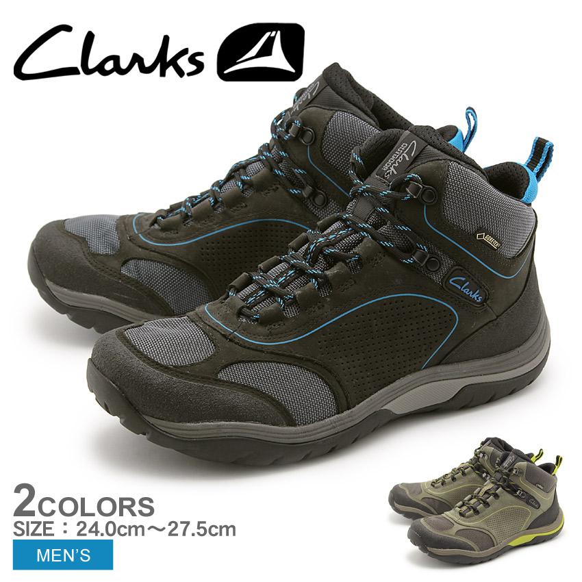 【クーポン配布!スーパーSALE】 クラークス CLARKS オン ツアー ルート GTX ゴアテックス アウトドア シューズ 全2色 (26103657 26103659 ON TOUR ROUTE GTX) くらーくす メンズ 天然皮革 本革 レザー トレッキング スニーカー 靴