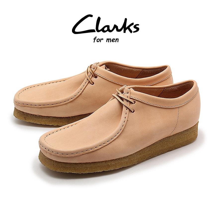 【クリアランスSALE開催中】送料無料 クラークス オリジナルス CLARKS メンズ カジュアルシューズ ワラビー ナチュラルタン ブランド くらーくす 靴 天然皮革 本革 (CLARKS 26122620 WALLABEE)