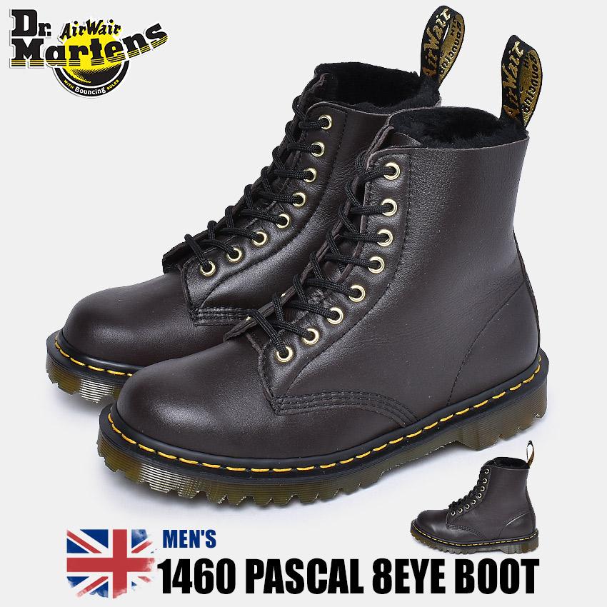 【クーポン配布!スーパーSALE】 ドクターマーチン DR.MARTENS 1460 パスカル 8ホールブーツ ブーツ メンズ ブラック 黒 靴 シューズ イギリス イングランド 英国 マーチン ブランド レザー カジュアル プレミアム ワーク クラシック 1460 PASCAL 8EYE BOOT 25271262