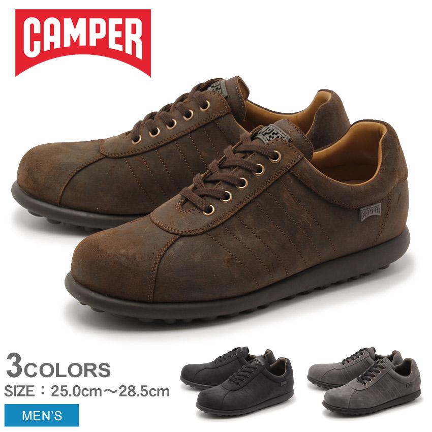 カンペール(CAMPER) ぺロータス アリエル 全3色 (CAMPER 16002 207 209 211 PELOTAS ARIEL) メンズ 靴 シューズ スニーカー 天然皮革 ローカット ブラック ダークブラウン ダークグレー