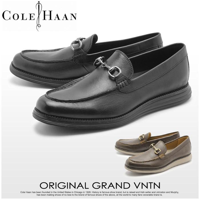 コールハーン COLE HAAN オリジナルグランド ベネチアンビット 全2色 (COLE HAAN C23382 C23629 ORIGINALGRAND VNTN) メンズ レザー ローファー 短靴 カジュアル シューズ ブラック 黒