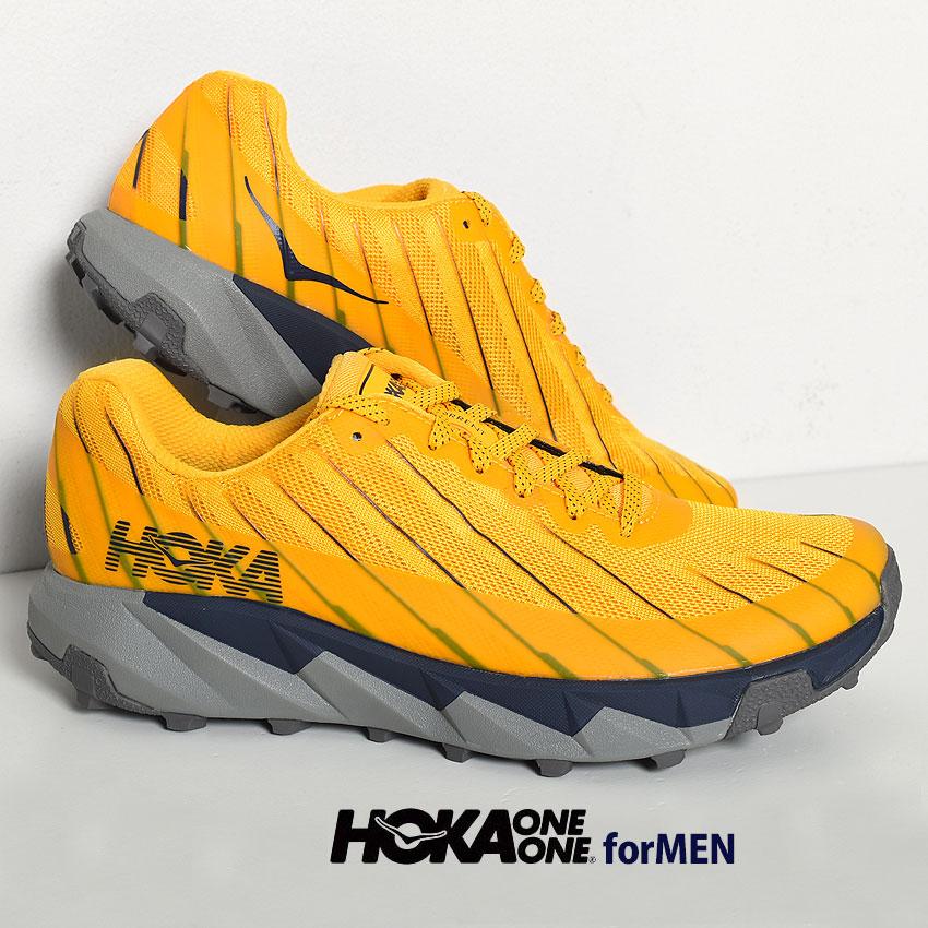 【クーポン配布!スーパーSALE】 ホカオネオネ スニーカー メンズ トレント イエロー 靴 シューズ ブランド スポーツ アウトドア レジャー ハイキング トレイル 運動 HOKA ONEONE TORRENT 1097751