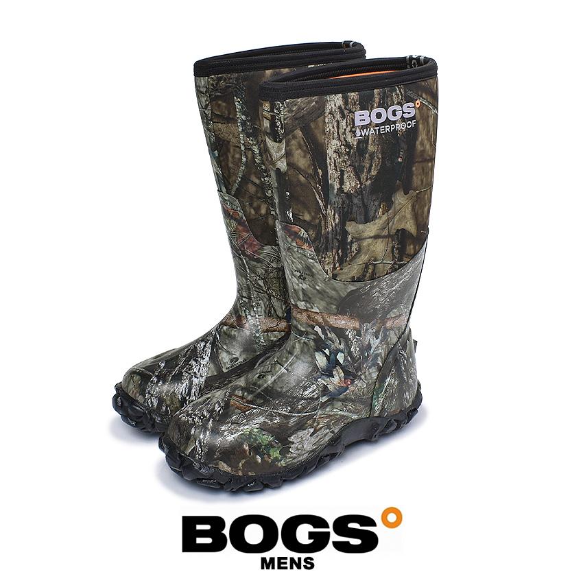 【クーポン配布!スーパーSALE】 ボグス BOGS レインブーツ クラシック カモ メンズ カーキ 迷彩 靴 シューズ カモフラ ロングブーツ おしゃれ 雨靴 長靴 防水 防滑 防寒 ボタニカル アウトドア フェス CLASSIC CAMO 60542