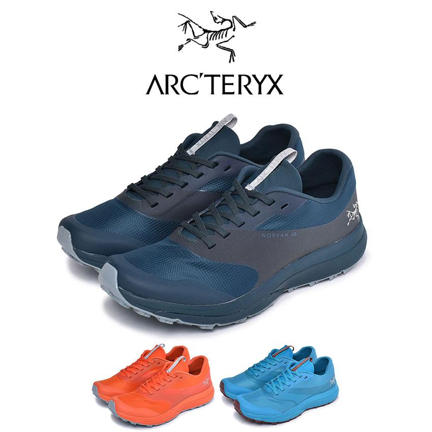 アークテリクス ARC'TERYX ランニングシューズ ノーバン LD メンズ 靴 シューズ スニーカー アウトドア スポーツ テクニカルトレイル 軽量 快適 ジョギング ローカット 練習 運動 ブランド オレンジ ブルー ネイビー 青 NORVAN 22246