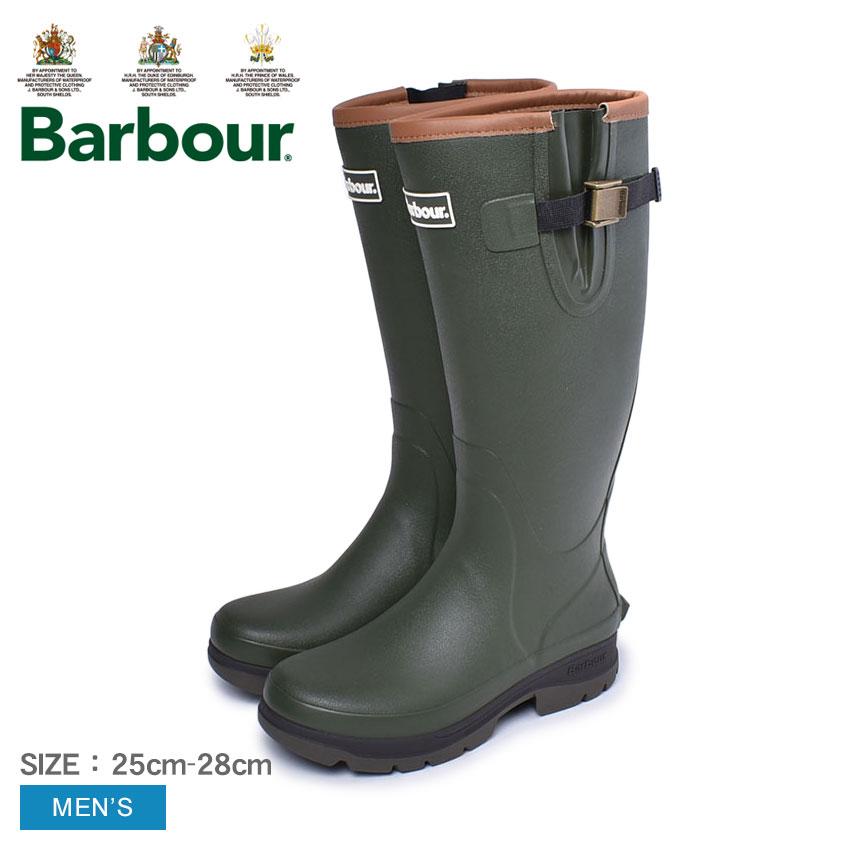 バブアー BARBOUR レインブーツ バブアー テンペスト メンズ 緑 カーキ オリーブ 靴 シューズ レインシューズ 雨 長靴 雨靴 防水 撥水 軽量 軽い ロングブーツ イギリス 王室御用達 BARBOUR TEMPEST MRF0016
