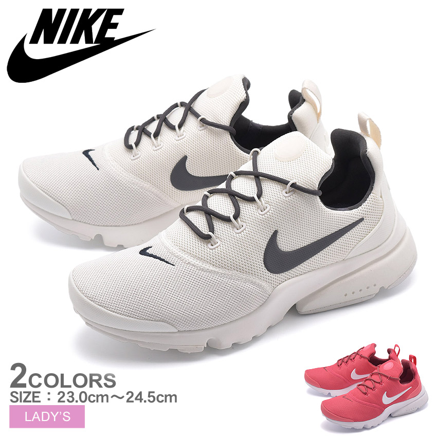 buy online ce55b f9c66 Nike NIKE presto fly sneakers Lady's low-frequency cut shoes shoes white  pink white PRESTO FLY 910569 104 602