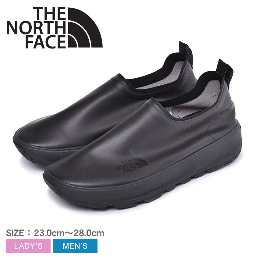 ザ ノースフェイス THE NORTH FACE カジュアルシューズ アプレ モック メンズ レディース ユニセックス ブラック 黒 靴 シューズ スニーカー ブーツ ノースフェース スリッポン 男女兼用 防水 軽量 アウトドア 川 海 レインシューズ 雨 Apres Moc NF51941 KK