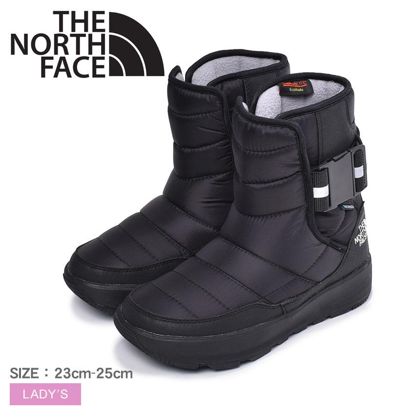 THE NORTH FACE ザ ノースフェイス アプレ プルオン 2 スノーブーツ レディース ブラック 黒 靴 シューズ ウィンターブーツ ブーツ ノースフェース カジュアル アウトドア タウンユース シンプル 保温 防水 撥水 おしゃれ APRES PULL-ON 2 NF51982