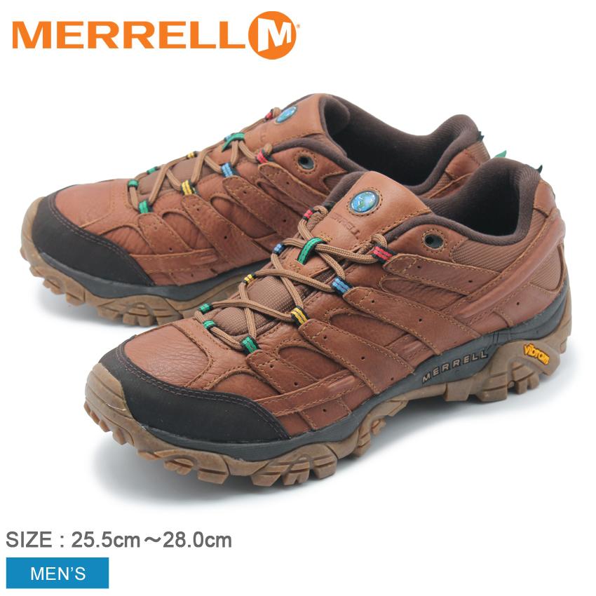 メレル MERRELL メンズ トレッキングシューズ モンクスローブ モアブ2アースデイ アウトドア トレッキング 登山 ハイキング 防水 シューズ 靴 ブラウン 茶 MOAB 2 EARTH DAY 50497 送料無料