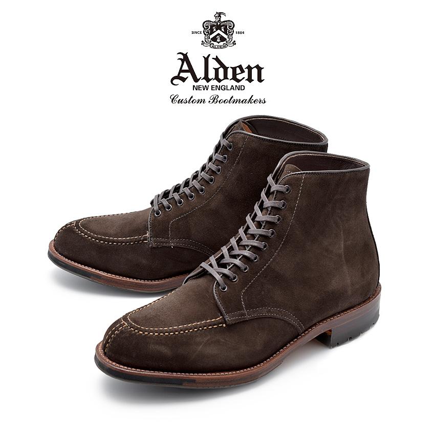 【クーポン配布!スーパーSALE】 オールデン ALDEN ブーツ タンカーブーツ メンズ シューズ トラディショナル ビジネス フォーマル バリーラスト スエード 革靴 紳士靴 ブラウン 茶 TANKER BOOT D5912C