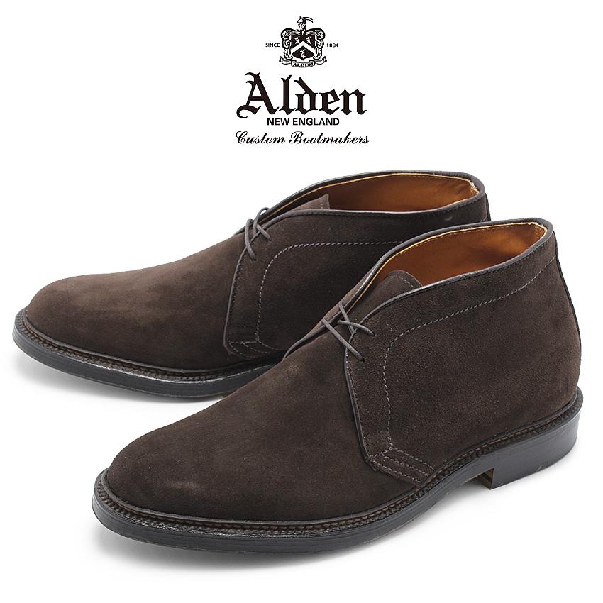 【クーポン配布!スーパーSALE】 オールデン ALDEN チャッカーブーツ メンズ シューズ トラディショナル ビジネス フォーマル スエード 革靴 紳士靴 ブラウン 茶 CHUKKA BOOT 1479Y