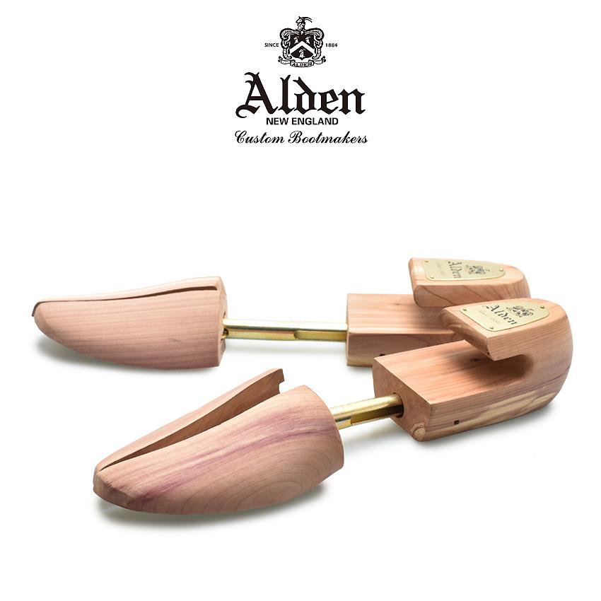 【ファイナルセール中】 ALDEN オールデン シューキーパー SHOE TREES 8316 メンズ レディース ブランド シューズ お手入れ ビジネス フォーマル ケア用品 シューツリー シューケア 保管 湿気取り 木製 木型 シダー ウッド 革靴 靴 紳士靴 高級靴 ブラウン ベージュ