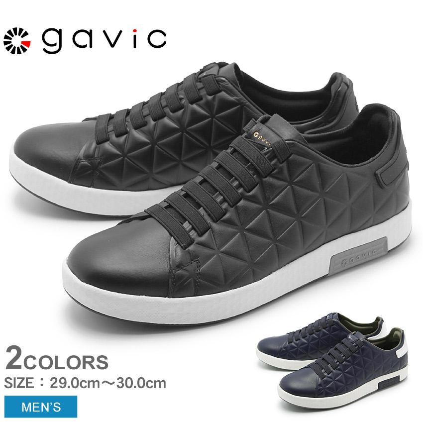送料無料 ガビック GAVIC LIFE STYLE デュシス スニーカー メンズ ローカット スリッポン シューズ 靴 BIGサイズ ライフスタイル ブラック ネイビー 黒 DYSIS GVC006 BLK NVY
