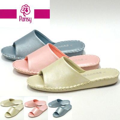 パンジー 私の部屋履き パントフォーレ 8688 アウトレット☆送料無料 卸売り ピンク pansy 婦人靴 ルームシューズ 包装紙ラッピングは不向きです 室内履き ※箱入りではないので スリッパ パンジースリッパ レディース