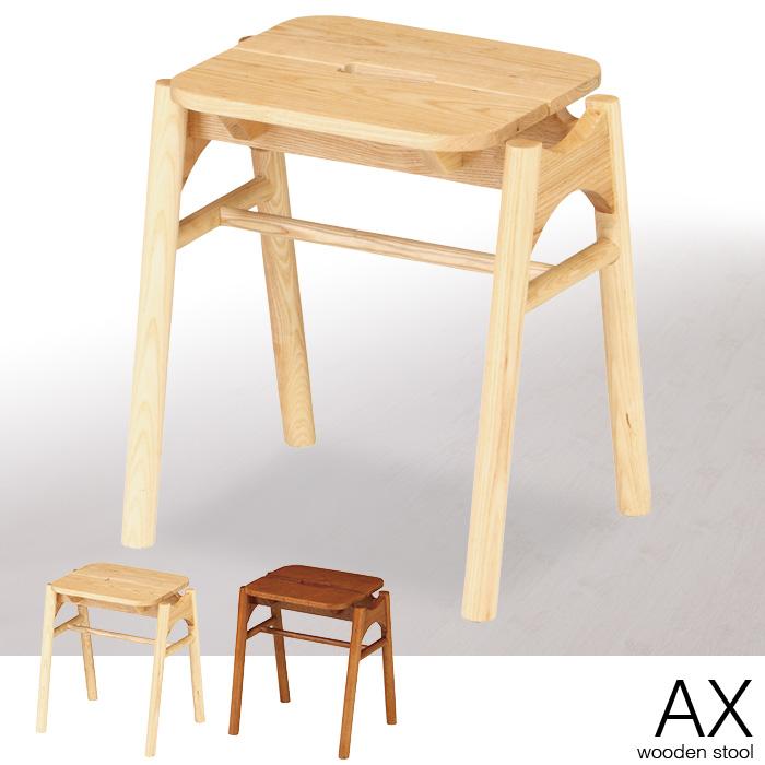 スツール 木製 積み重ね シンプル 天然木 北欧 ウッド スタッキング 背もたれなし 椅子 イス いす チェアー チェア おしゃれ 完成品