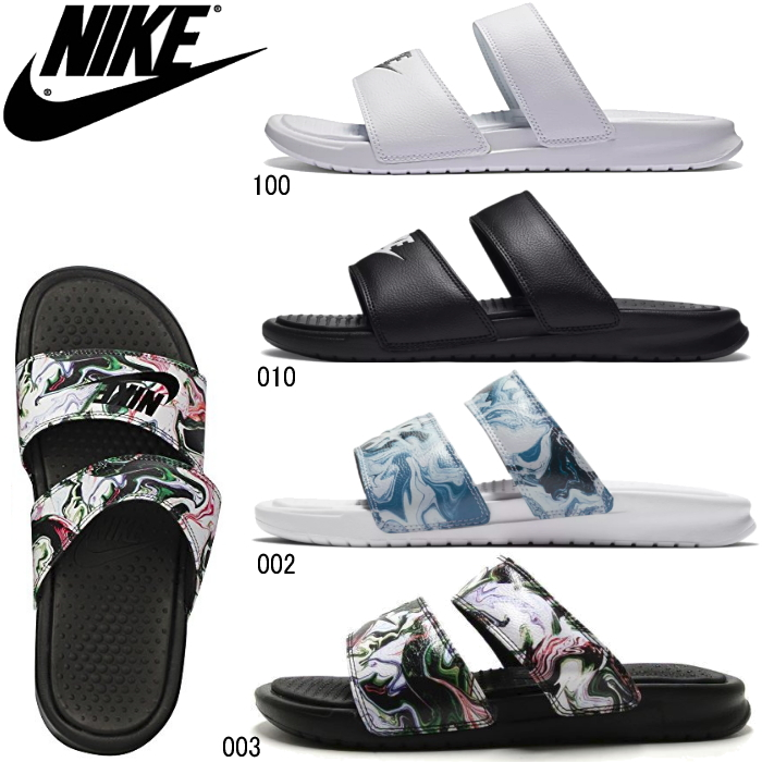 6ae61125a3ccca レディースナイキベナッシデュオウルトラスライド NIKE WMNS BENASSI DUO ULTRA SLIDE 819717 black  white sandals pool beach office ladies shoes○