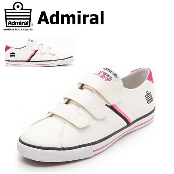 アドミラル ワトフォード スニーカー メンズ レディース Admiral Watford V SJAD1621-011302 ホワイト スニーカー 靴 アドミラル【PIPI-28nvc】●【16FW】【あす楽対応】 【07co】