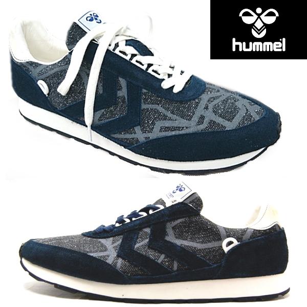 ヒュンメル メンズ スニーカー hummel REFLEX OG リフレックス OG [HAS7304] ランニングシューズ メンズ 【PKPK-28hpc】● ローカット メンズ靴 おしゃれ カジュアル ネイビー 紺 大きいサイズ 25.0 26.0 27.0 28.0 29.0