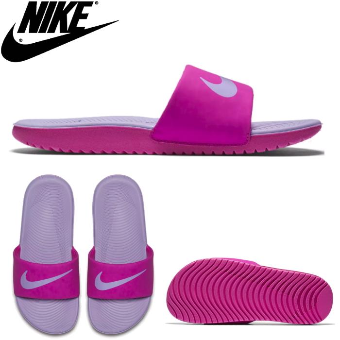 9e24191763275 Shoes shop LEAD  Nike shower sandals NIKE KAWA SLIDE (GS PS) kava ...